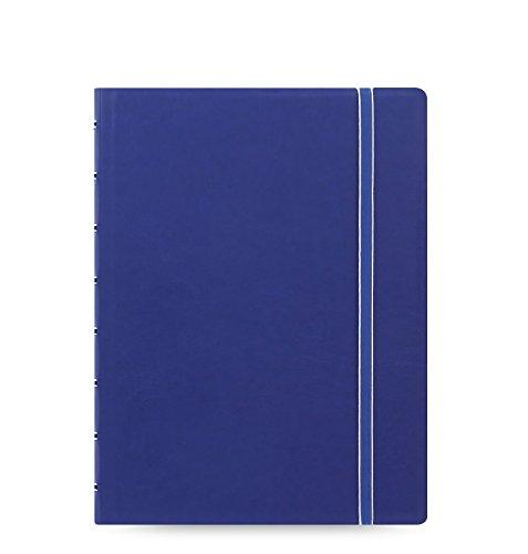 Blaues, nachfüllbares A5-Notizbuch von Filofax