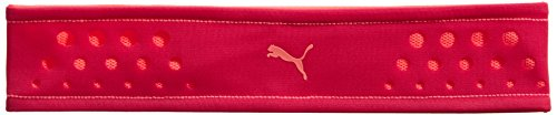 PUMA Stirnband Fit at Headband, Rose Red/Fluro Peach, OSFA