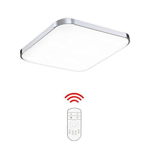 Hengda® 36W LED Deckenlampe Badleuchte Dimmbar Fernbedienung 240-3240LM Modern Deckenleuchte 230v
