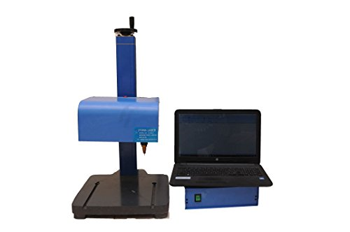 VYANA LASER Pin Marking Machine 2D PC Model (BLUE)