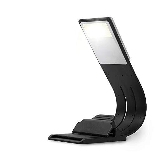 Lucha Lámpara de Escritorio LED, lámpara de Lectura, lámpara de Lectura LED Recargable USB Multifuncional para Cama Lámpara de Cama de Escritorio para el Cuidado de los Ojos