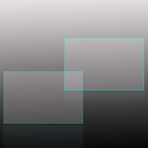 AICHAYU Panasonic GX7 GF9 GF8 GF7 /gm1s/TZ70 TZ90 TZ85 TX1/tx2 FZ85 TZ57 9H Harte Anti-Kratz Digitalkamera Hartglas Displayschutzfolie(2 Stuck)