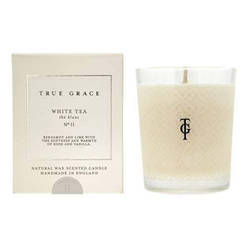 True Grace Classic Village Bougie parfumée Thé blanc 190 g
