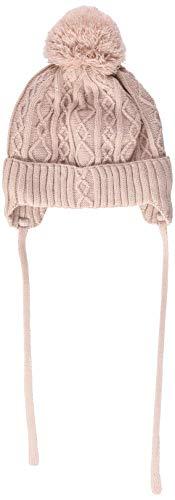 maximo Baby-Mädchen 84589-639200, Pompon Mütze, Pink (Rose Tan 39), 47