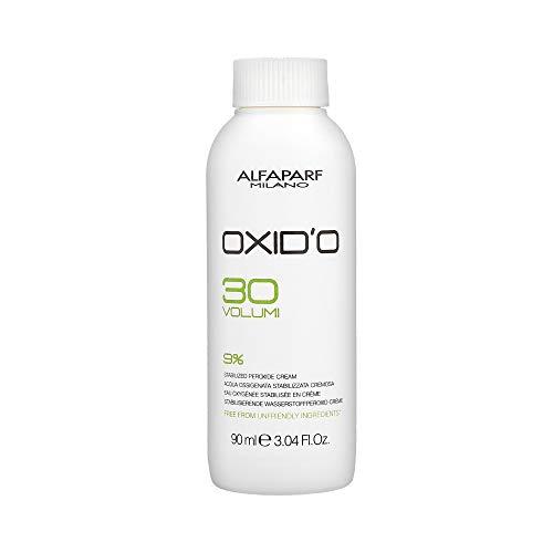 Alfaparf Milano OXID'O Stabilized Peroxide Cream 30 Volume 9% - 3.04 Fl.Oz. by Alfaparf Milano