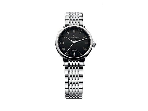 Maurice Lacroix Les Classiques Tradition Ladies Automatik Uhr, 28mm, Schwarz