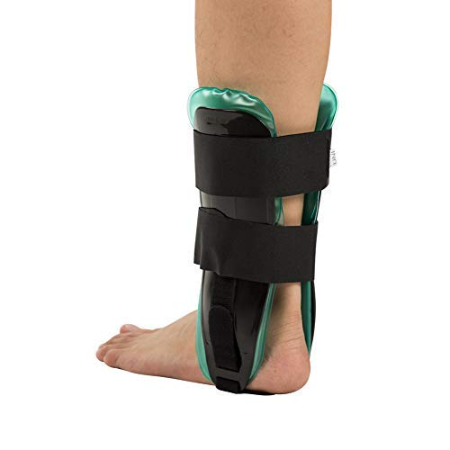 Ankle Stirrup Brace, Air & Gel Ankle Splint Stabilizer for Reduce Swelling, Sprains, Tendonitis, Relief Arthritis Pain and Inflammation