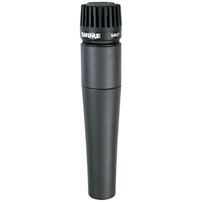 Shure SM57-LC Cardioid Dynamic Microphone - Black by Shure