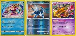 Pokemon!! 3 LEGENDARY s Giratina! Dialga! and Palkia!! 50 Card lot with RARES Guaranteed!