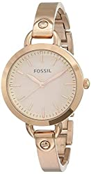 Fossil Analog Rose Gold Dial Women's Watch - BQ3026,Fossil,BQ3026,fresh new look