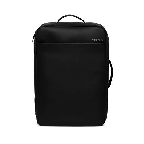 SALZEN Business Backpack - Businessrucksack - Total Black - Black