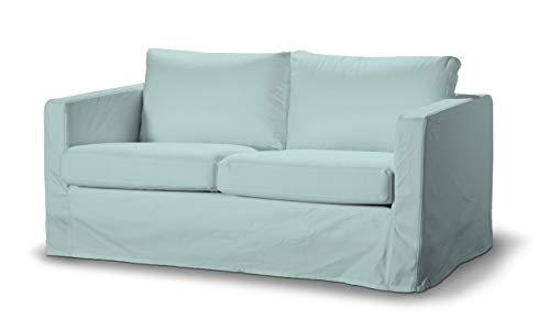 Dekoria Floor Length Karlstad 2-Seater Sofa Cover Index 618-702-10 IKEA karlstad 2 Seater Sofa Cover, karlstad 2 seat Sofa Cover, karlstad Sofa Covers, karlstad Covers uk