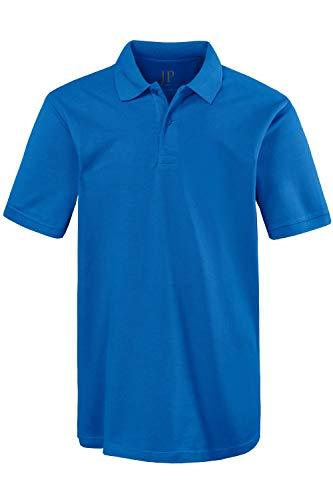 JP 1880 Herren große Größen bis 8XL, Poloshirt, Oberteil, Knopfleiste, Hemdkragen, Pique, tiefblau 3XL 702560 74-3XL