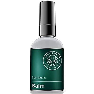 Bart's Balm Aftershave Balm Men- Argan Oil - Amber 50ml - Sensitive After Shaving Skin Care by Bart's Balm