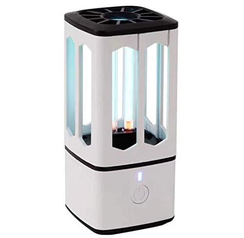 Lámpara de luz Ultravioleta portátil esterilizador de luz UV Lámpara LED Profesional Esterilización Ultravioleta para el coche casa jardín mascotas (UV3.8W)