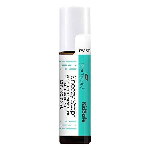 Plant Therapy KidSafe Sneezy Stop Essential Oil Blend...
