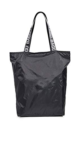 BAGGU Women's Ripstop Tote, Black, One Size