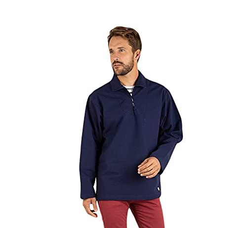 Armor Lux Herren 76840 Sweatshirt, Mehrfarbig (Navire 300), X-Small (Herstellergröße: 1)
