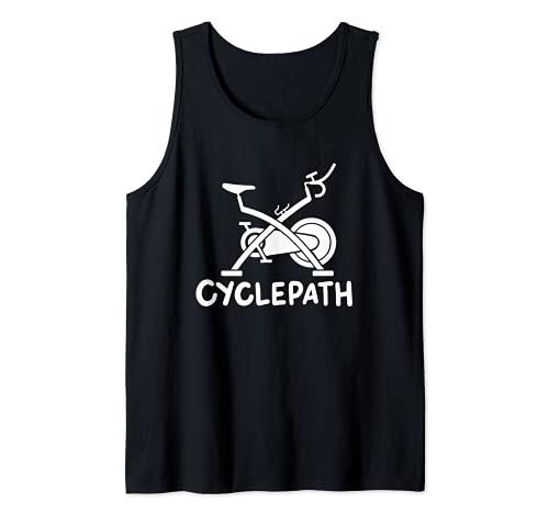 Diseño de entrenamiento de clase de spinning de ciclopista Camiseta sin Mangas