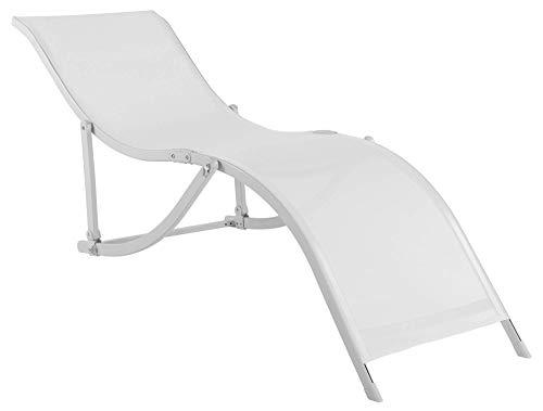 Bel Fix 35701 Cadeira Espreg S Alumínio Textilene, Branco