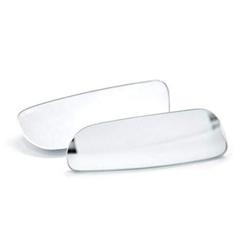 2pcs Automático De Punto Ciego Espejo Retrovisor 360 Ronda De Gran Angular Del Vehículo Espejo Convexo Espejo De Coche De Lado For Dar Vuelta A Lado De Check Accesorios Cubierta de la tapa del espejo