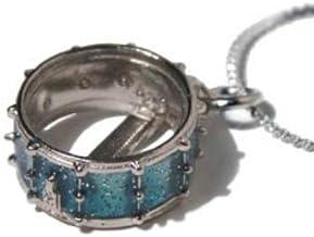 Snare Drum Necklace - Blue