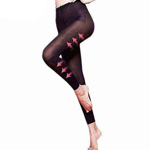 Azurex Strumpfhose Ultra-blickdicht Strumpfhose Sculpting Sleep Leg Shaper Hose Legging Socken Frauen Body Shaper Höschen (M)