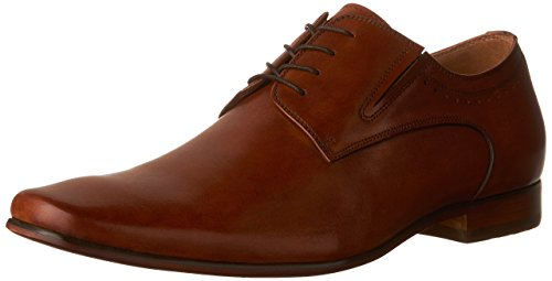 ALDO Men's Wakler-R Oxford Dress Shoes, Cognac, 10.5