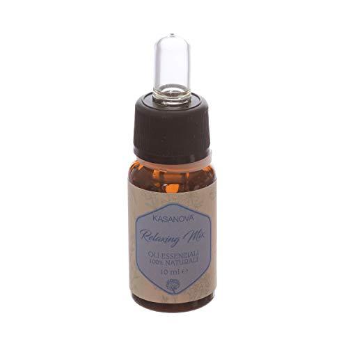 Olio essenziale Relaxing mix da 10 ml con contagocce Relaxing Mix