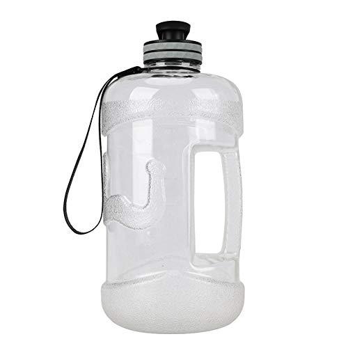 CGMZN Wasserglasbeutel Grande capacité en Plastique Sports de Plein air bouilloire poignée Portable équipée Paille bouteille D'eau Voyage Tasse Avec infuseur de thé