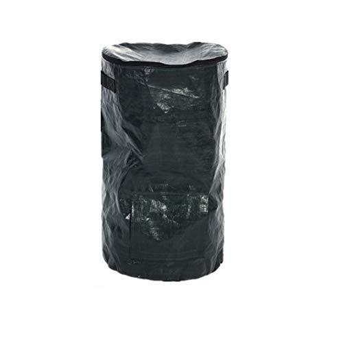 Urhause Garten Kompostbeutel, Zusammenklappbarer Kompostbehälter Yard Waste Bag für Hausgartenabfall Komposter Grow Bag Umweltfreundliche Werkzeuge,45X80 cm