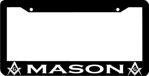 Personalized City Mason Masonic Moson License Plate Frame