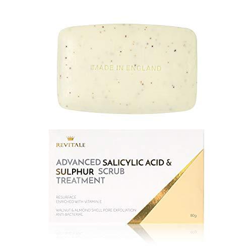 Revitale Advanced Salicylsäure- und Schwefel-Peeling-Seife