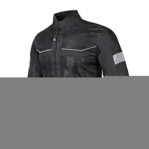 Chaqueta Moto Hombre con Armadura Motocicleta Cordura CertificacióN CE Chaqueta Reflectante Chaqueta Reflectante Traje de Moto para Hombre B,XL