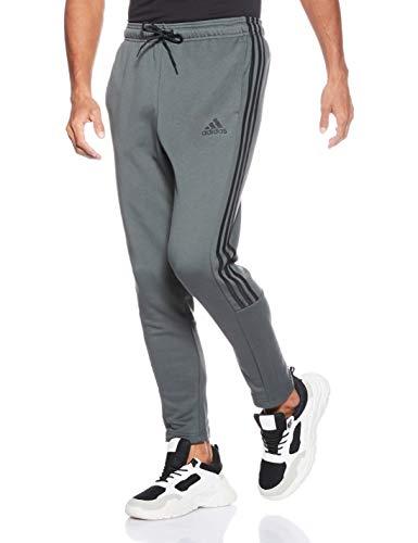 adidas Must Haves 3-Stripes Tiro P, Pantaloni Uomo, Grigio (Legend Ivy/Nero), S