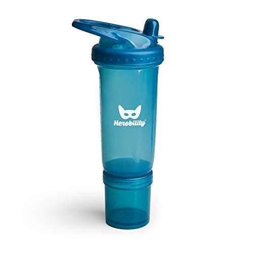 Biberon Cristal Herobility Eco 320 Ml Aqua Herobility