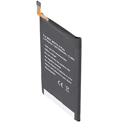 Akku passend für Motorola Moto X Play, Li-Polymer, 3,8V, 3500mAh, 13,3Wh, Built-in, ohne Werkzeug