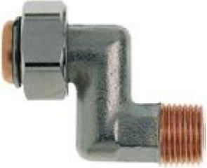 Heimeier radiator-S-aansluiting 3/8-1353-01.362