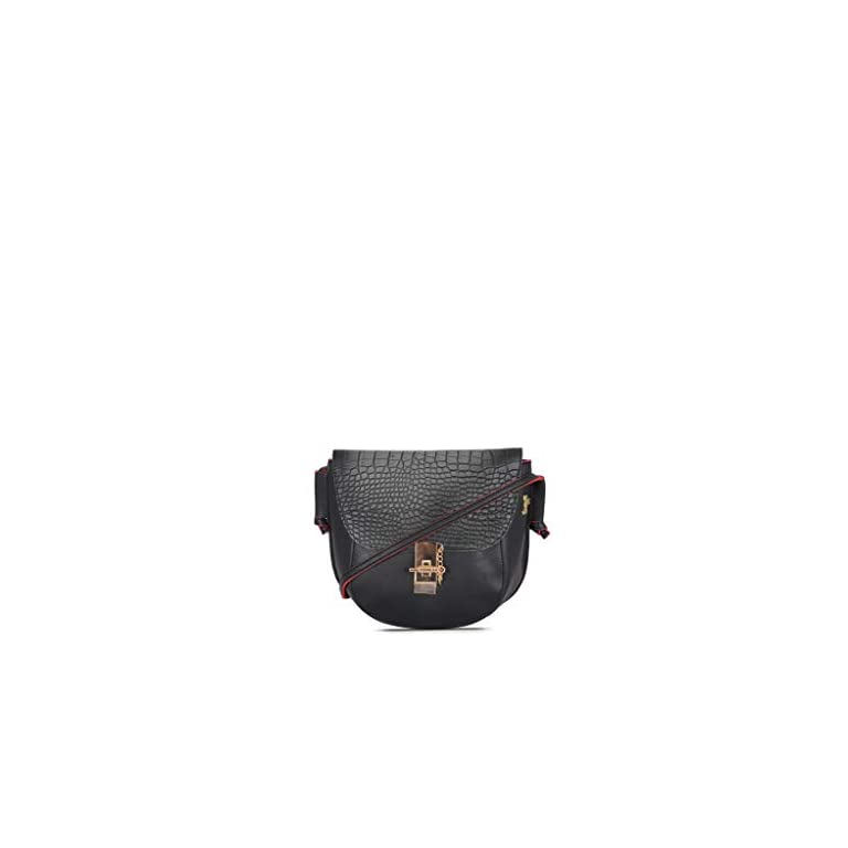 Baggit-Womens-Handbag-Black-Red-Unitsnits-1