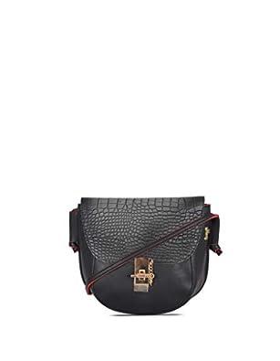 Baggit Women's Handbag (Black-Red)