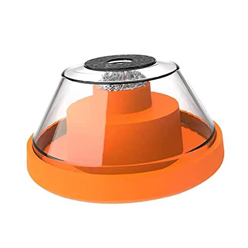 Sharplace Colector de polvo de taladro eléctrico Colector de polvo de panel de yeso de 4-10 mm para martillo y taladro eléctrico, cuenco de polvo para sierra