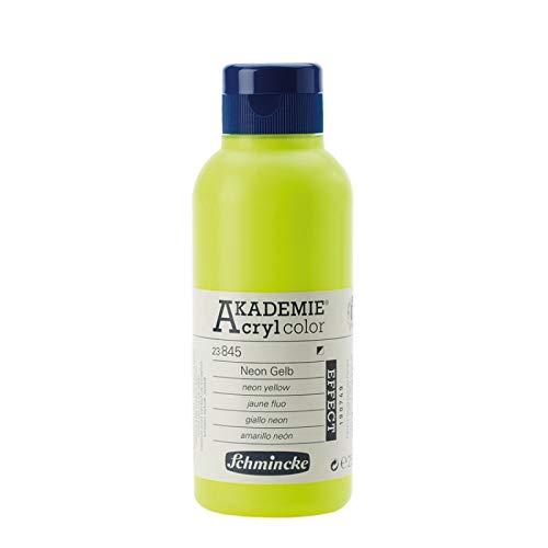 Schmincke Akademie Acryl Color Neon Gelb 250ml Acrylfarbe - Akademie Acryl 23845027