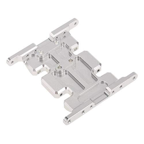Placa de Deslizamiento Central de Soporte de Montaje de Caja de Engranajes de aleación de Aluminio 1/10 para Axial SCX10Sliver