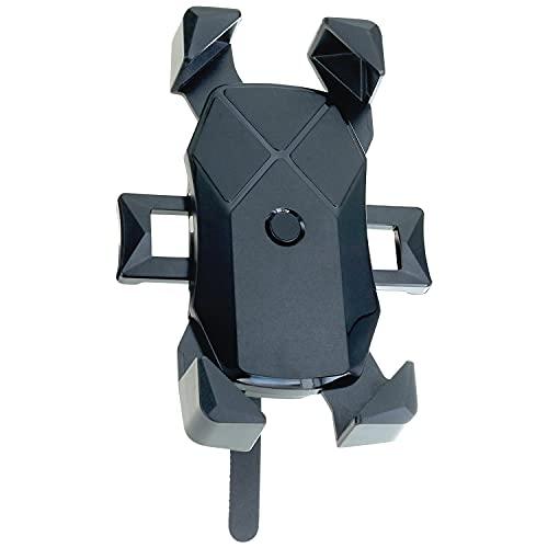 XiRRiX Soporte universal para teléfono móvil para bicicleta de 4,7 a 7 pulgadas (11,9 a 17,8 cm), soporte giratorio 360°, compatible con Samsung Galaxy A21s, A32, A51, A52, M11, M51, Xcover 5, 4, 4s