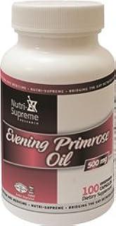 Nutri-Supreme Research Evening Primrose Oil 500 mg - 100 Vegetarian Capsules