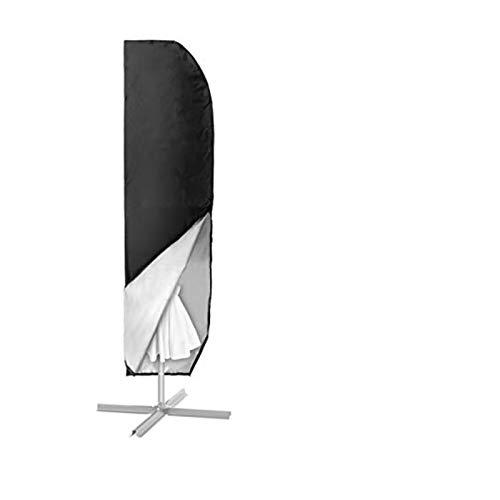 MOHOO Sonnenschirm Hülle mit Stab, Ampelschirm Schutzhülle 2 bis 4 M Große Sonnenschirm Abdeckung,UV-Schutz, durchgängiger Reißverschluss,Winddicht und Schneesicher,Oxford Gewebe