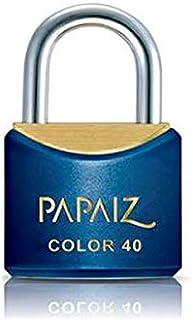 Cadeado Color Line, Papaiz, CR40, Azul