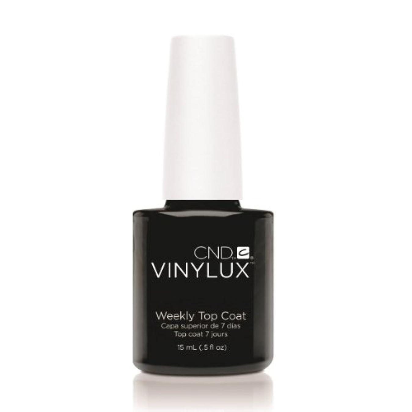 効率ピッチャーノミネート(6 Pack) CND VINYLUX Weekly Top Coat - Clear (並行輸入品)