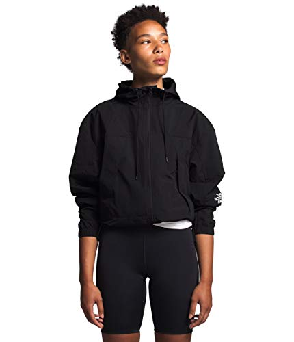 The North Face Women's Peril Wind Jacket, TNF Black, S