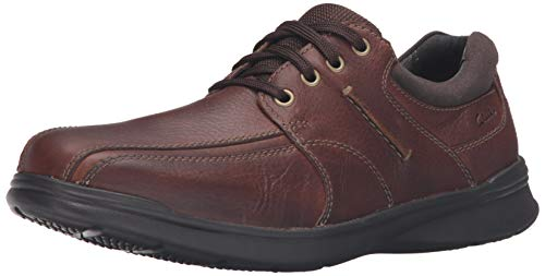Clarks Men's Cotrell Walk Oxford, Tobacco, 9.5 M US